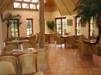 Cafe am Eingang